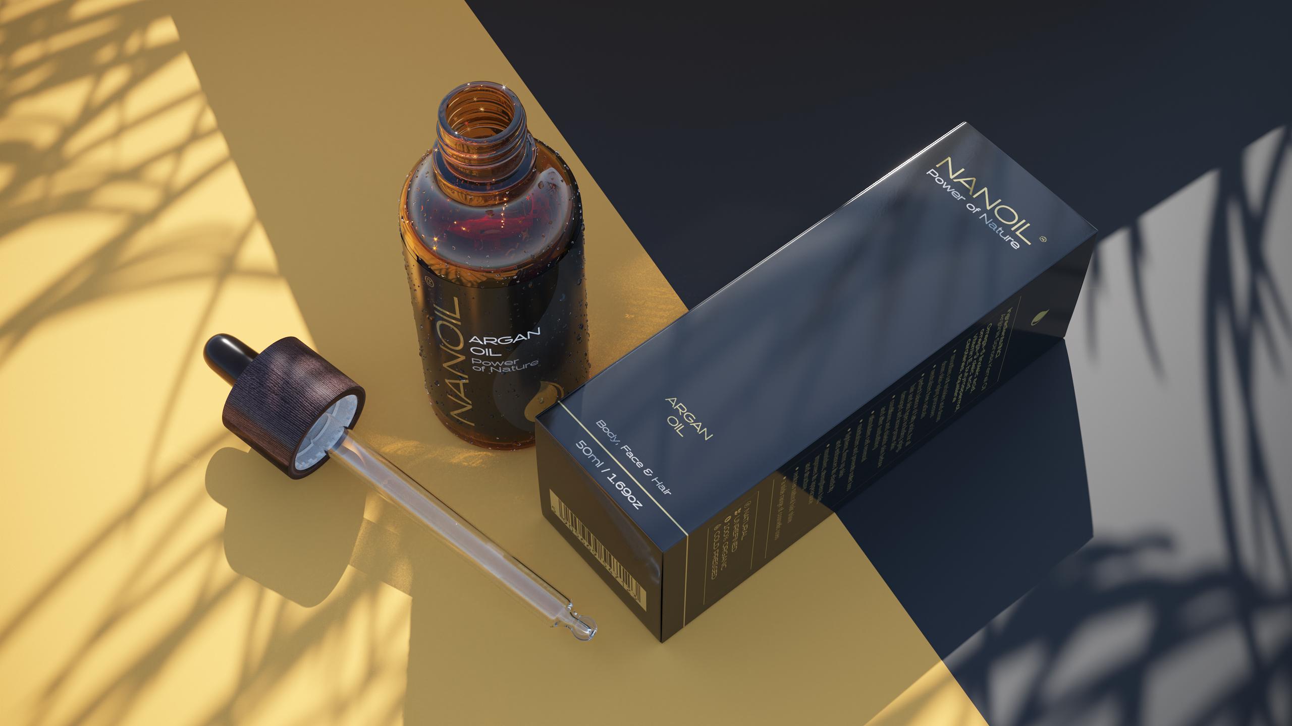 Arganöl von Nanoil in der Pflege